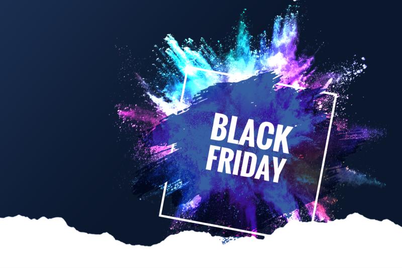 5 bons plans pour un Black Friday haut en couleur
